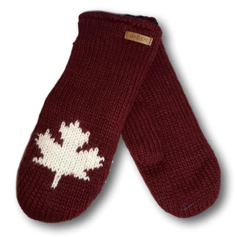 Solid Canada Mitts