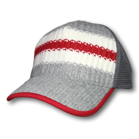Sock Knit Mesh Back Cap