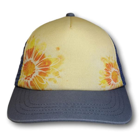 Flower Mesh Back Cap