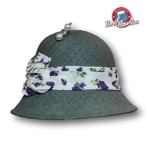 Printed Band Cloche