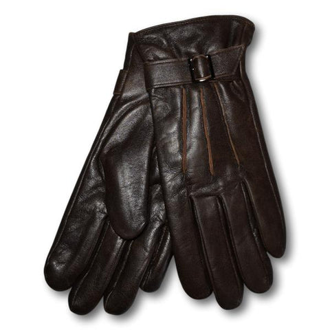 Men's Distressed Leather Gloves