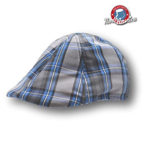 Plaid Duckbill Ivy Cap