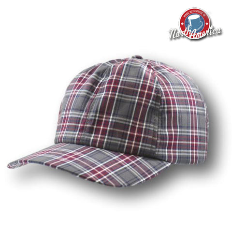 Plaid Ball Cap