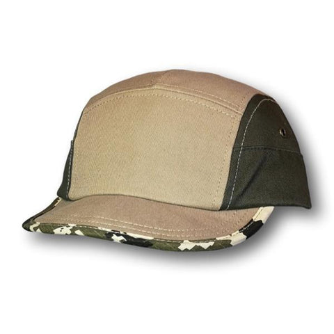 Camo Trim Ball Cap