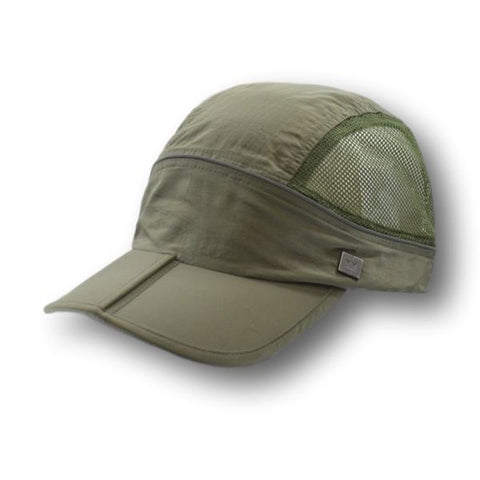 Foldable Brim Ball Cap
