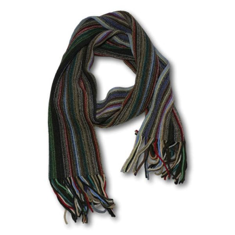 Striped Lambswool Scarf