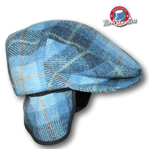 6e678c5e93c97 Harris Tweed Flat Cap    BeauChapeau Hat Shop