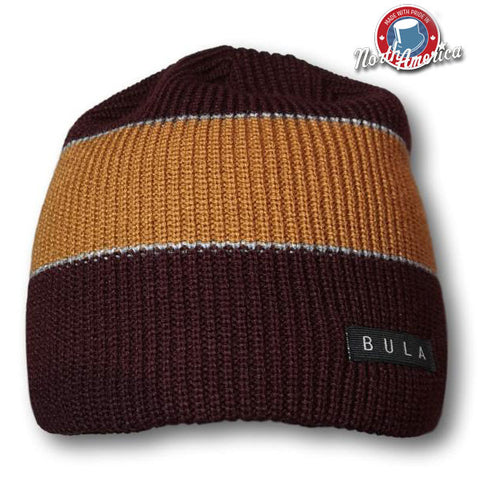 Two-Tone Wide Stripe Toque