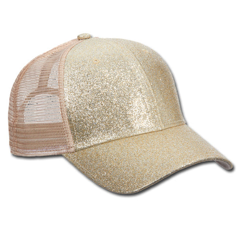 Metallic Ball Cap