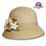 Floral Bouquet Cloche