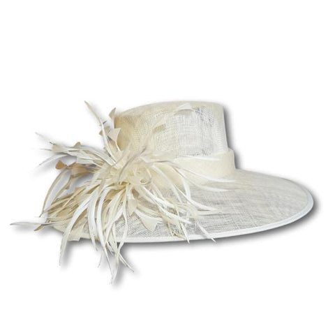 Feather Burst Wide Brim