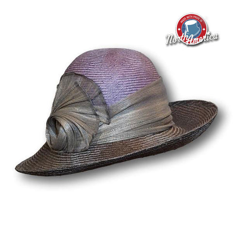 Two-Tone Profile Wide Brim