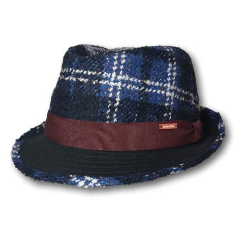 Plaid Fedora With Ear Flaps