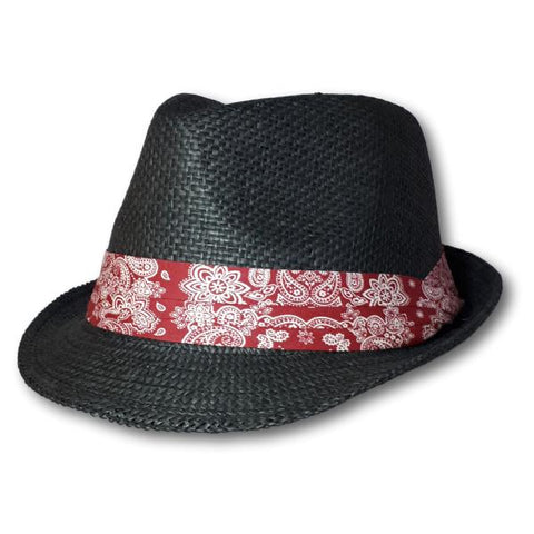 Fedora With Scarf Band
