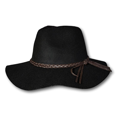 Braided Band Floppy Fedora