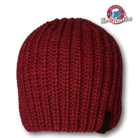 Ribbed Knit Toque