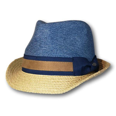 Recycled Denim Fedora