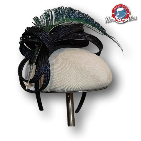 Feather Loops Fascinator
