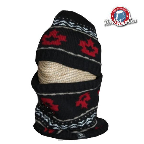 Maple Leaf Neck Warmer & Toque Combo