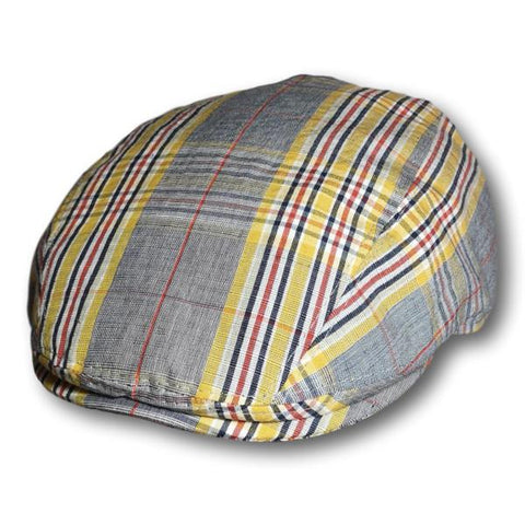 Gottmann Plaid Linen Oxford Cap