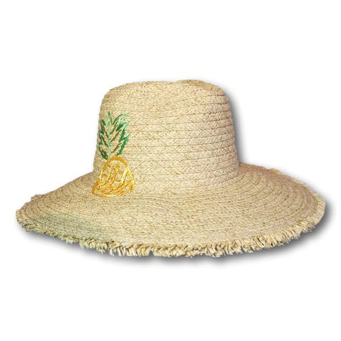 Pineapple Floppy Fedora