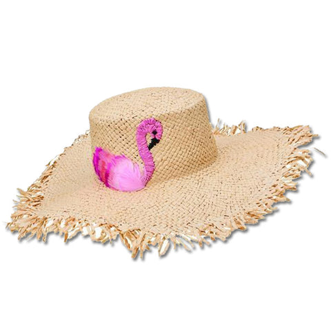 Feathered Flamingo Sunhat