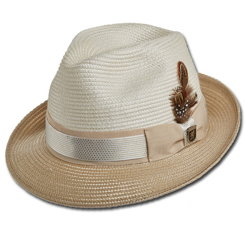 Stacy Adams Metallic Band Fedora