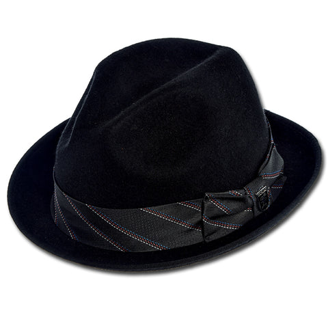 Stacy Adams Tie Band Fedora