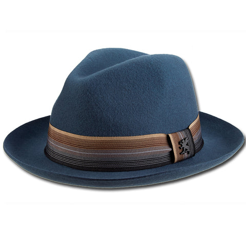 Stacy Adams Multi Stripe Fedora