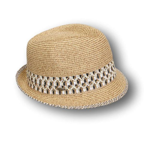 Weave Accent Fedora