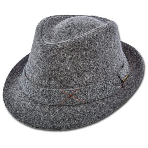 Stetson Plaid Band Fedora