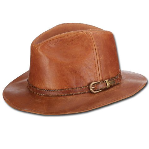 Goat Leather Fedora