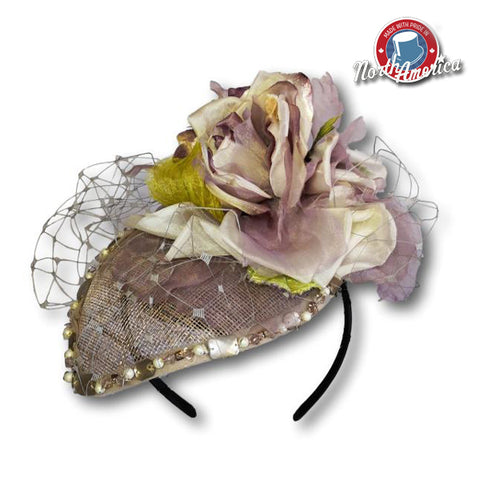Pearl Teardrop Fascinator