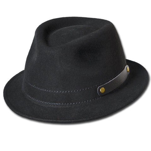 Rollable Wool Fedora
