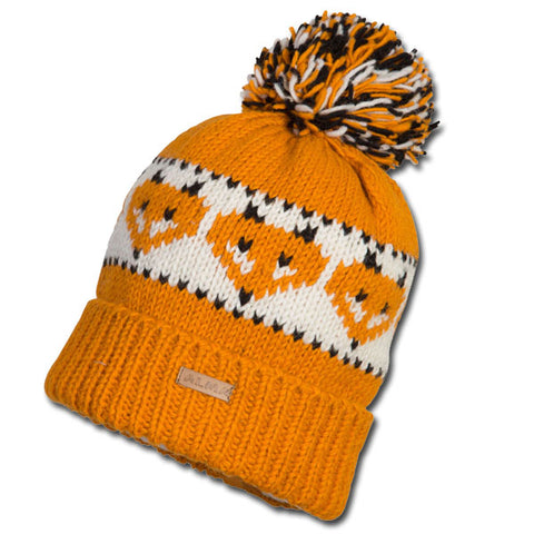 Fox Pattern Knit Toque