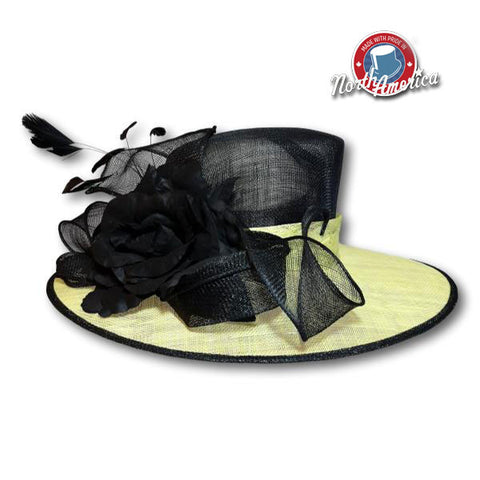 Rose Loops Wide Brim
