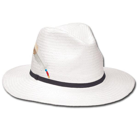 Feather Print Fedora