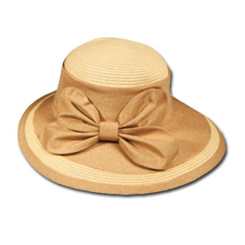 Two Tone Dress Hat