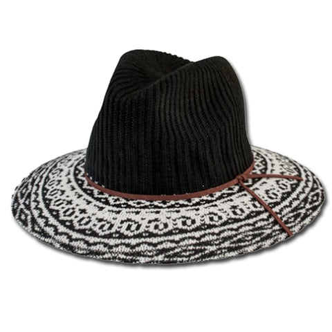 Knitted Fedora