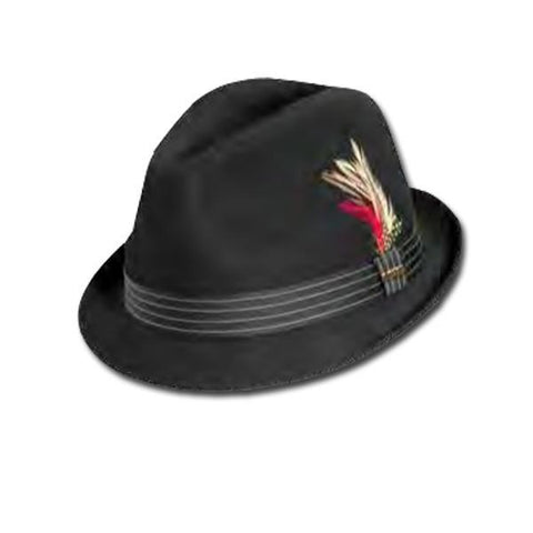 Top Stitch Band Fedora
