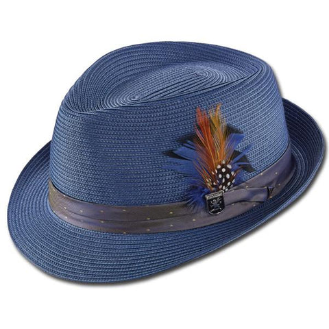 Stacy Adams Tie Fedora