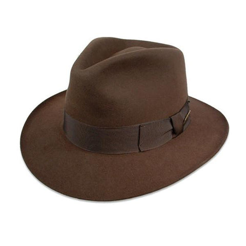 Fur Felt Indiana Jones Fedora