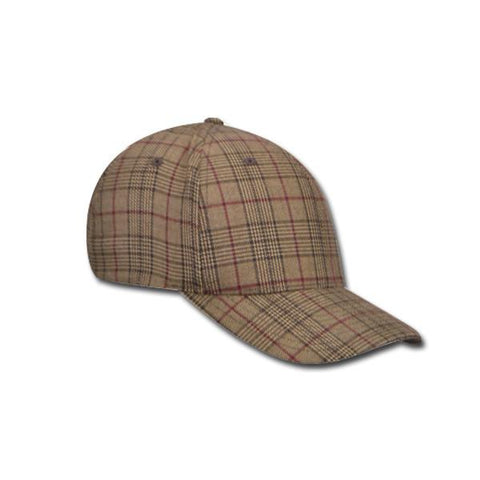 Plaid Flexfit Ball Cap