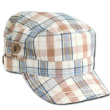 Plaid Cadet Cap