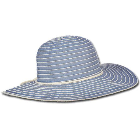 Sewn Ribbon Sun Hat
