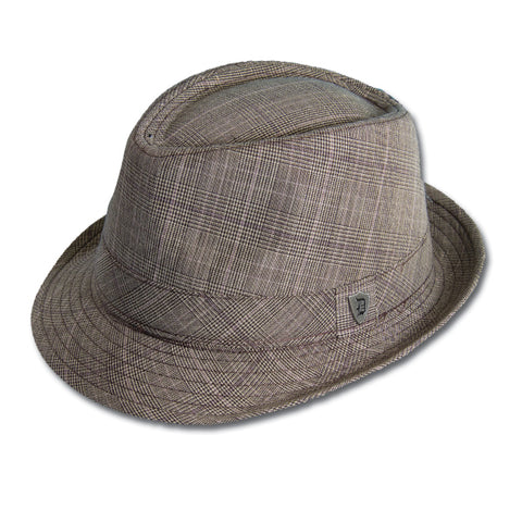 Subtle Plaid Fedora
