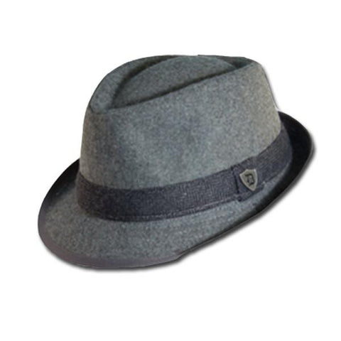 Herringbone Band Fedora
