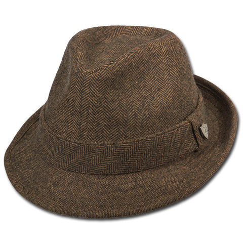 Multi Textured Fedora