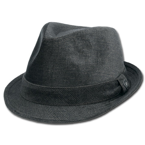 Textured Fabric Fedora