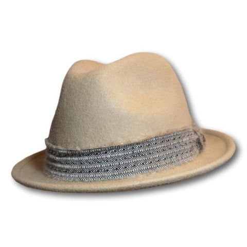 Gottmann Newman Tweed Band Fedora